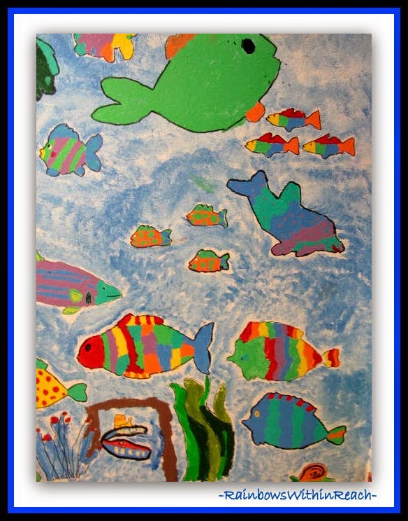 All Kinds of Fish in the School Sea {Ocean RoundUP at RainbowWithinReach}