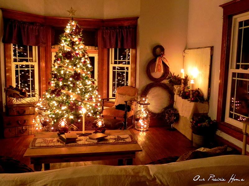 Our Prairie Home A Start On Home Christmas