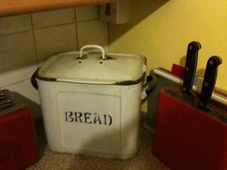 Vintage Bread Bin, Vintage Kitchenalia