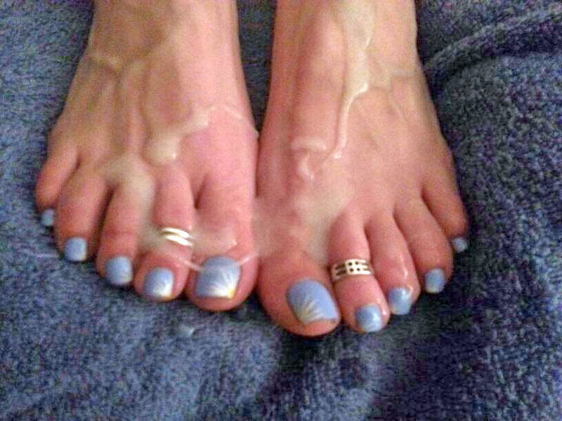 ... Gurl's feet have been covered in cum countless times, she longs to have  the cum be from a black cock - mainly that of Shane Diesel and/or Mr.  Hollywood.