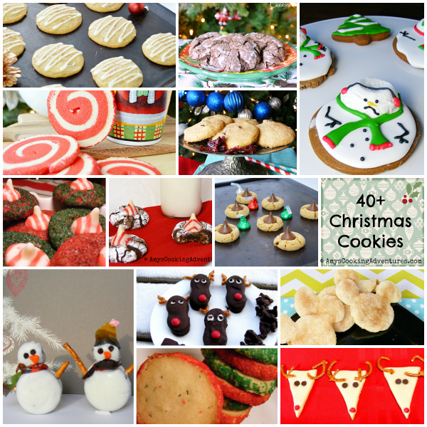 Amy S Cooking Adventures 40 Christmas Cookie Recipes