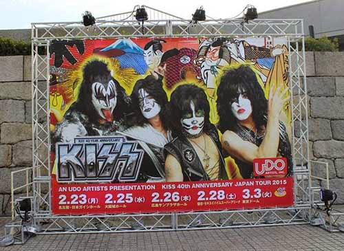 Kiss2015ジャパン・ツアー大阪ライブ