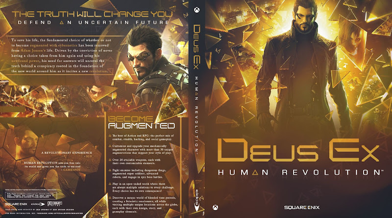 Capa Deus Ex Human Revolution Xbox One