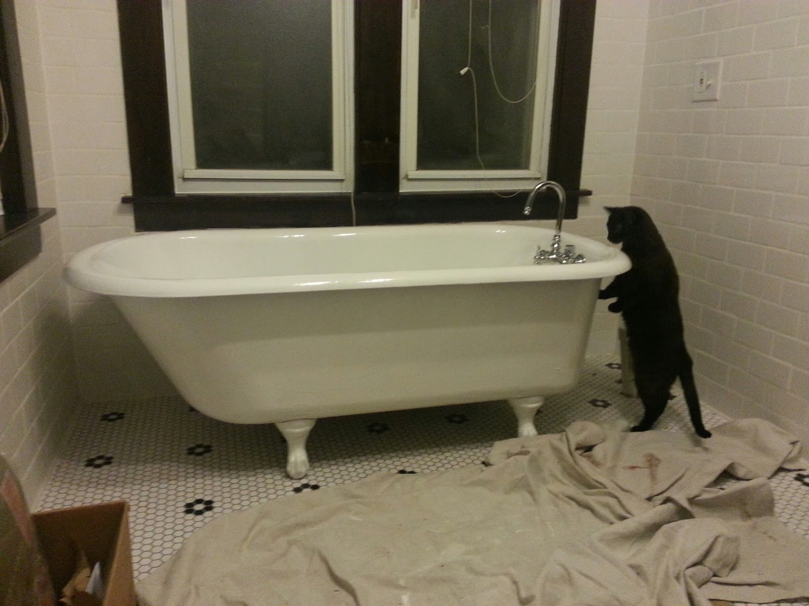 A Bathroom Update and a Bit of Tub History
