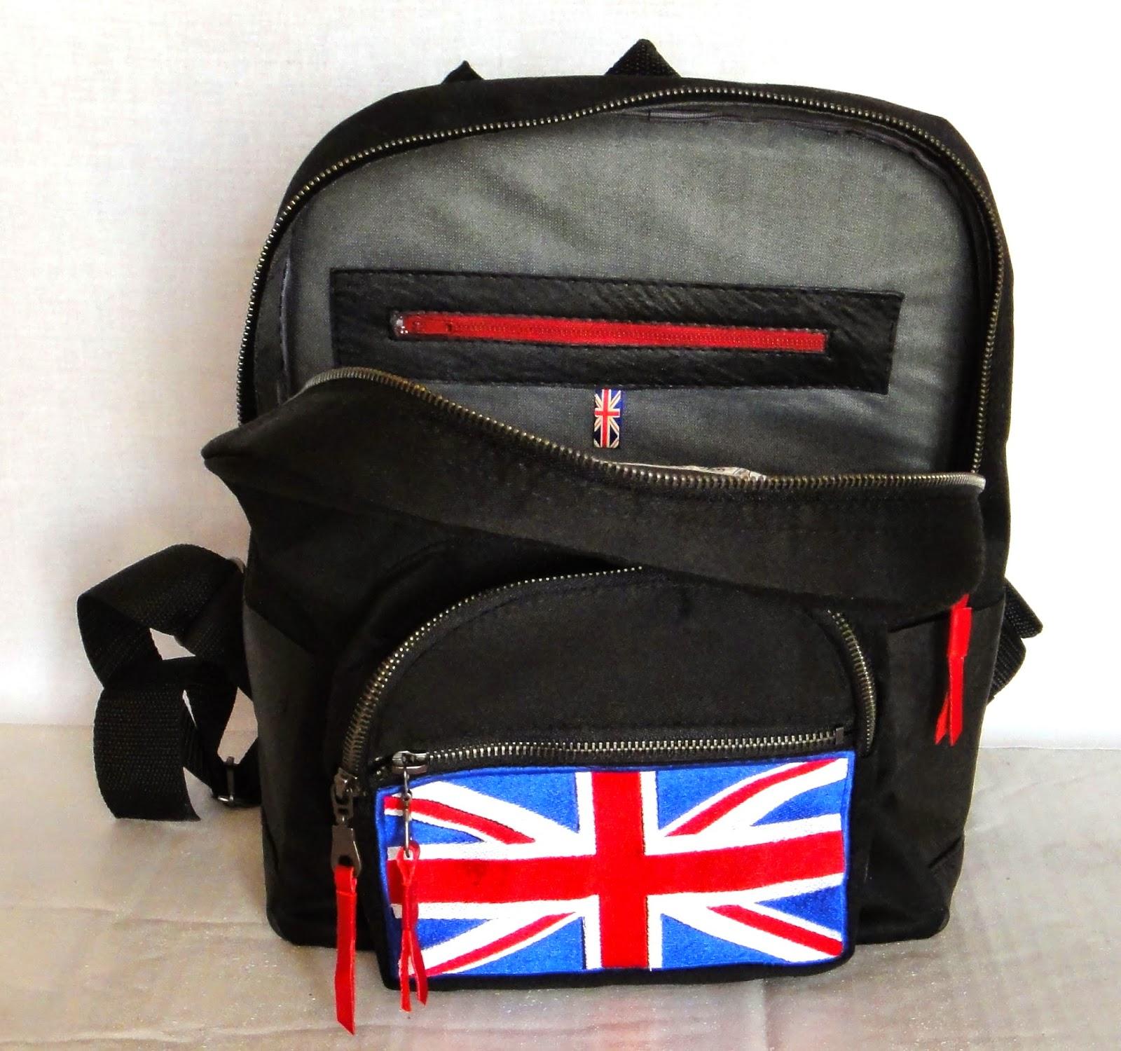 Лондонский стиль, стиль колледж - молодежный рюкзак, подарок подростку