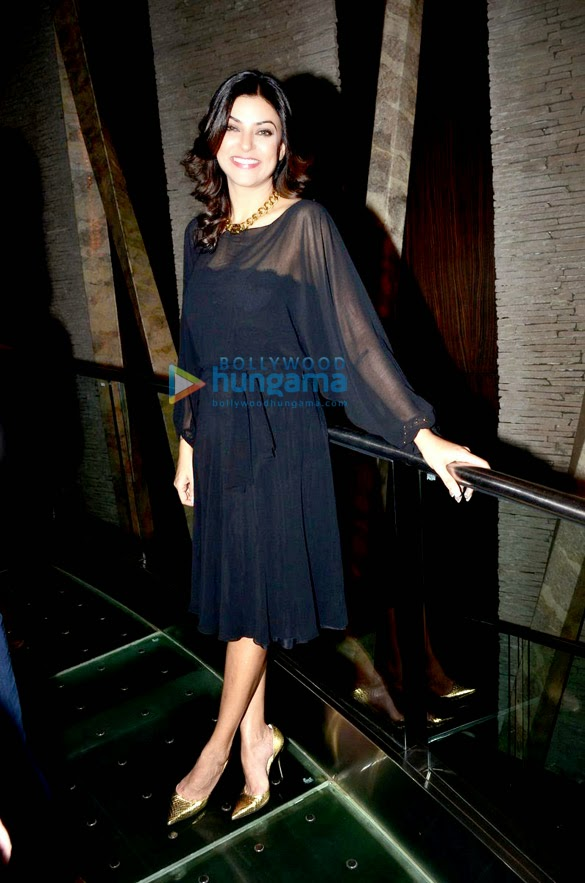 Sushmita Sen at the launch of Wasan's 'The English Manner Style Academy'