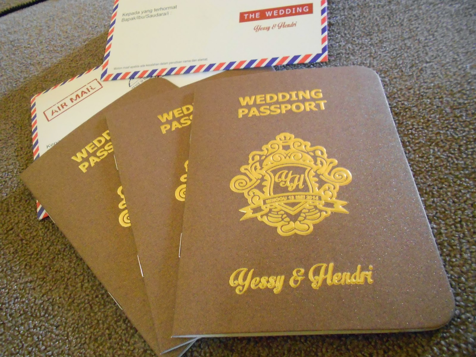 wedding passport