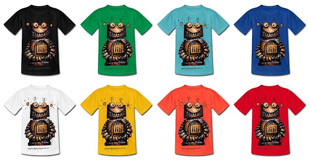 paul_stickland, robots, robot_t_shirts, kids_tshirt, robot_tees