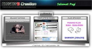 Cara Membuat Tampilan Home Page Tersendiri