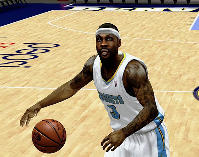NBA 2K13 Ty Lawson Cyberface Patch