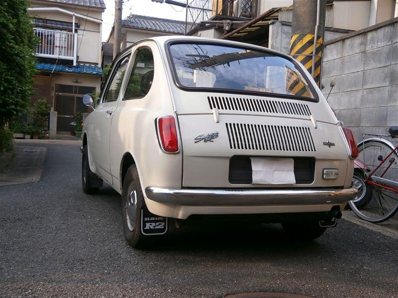 Subaru R-2, klasyk, mały silnik, niewielki, stary, old car, retro, mały samochód, kei car, 軽自動車