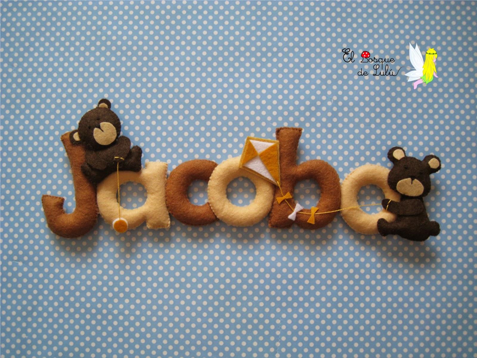 nombre-fieltro-decoración-infantil-Jacobo-detalle-nacimiento