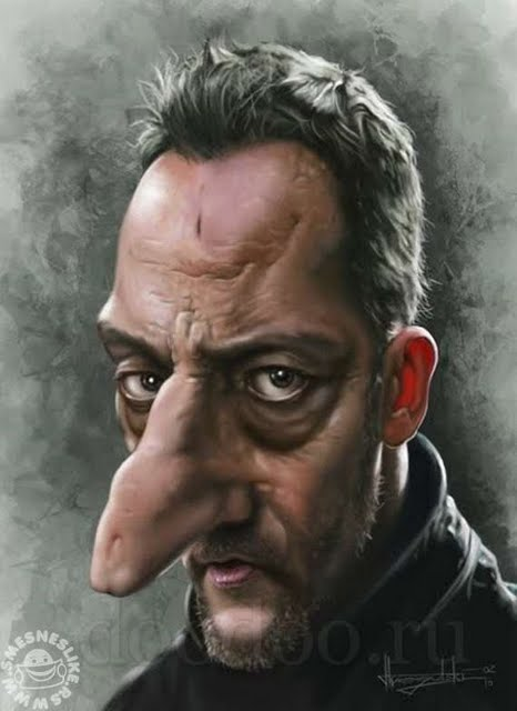 Great Caricatures of Famous People... 45 images
