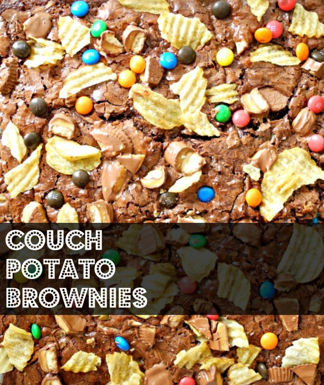 What Catey Made Next... | Couch Potato Brownies