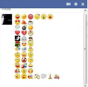 Facebook chat smileys – facebook chat emoticons codes 2013