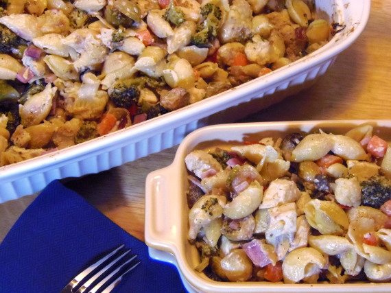 Chicken And Roasted Veggie Casserole Recipe