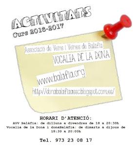 ACTIVITATS CURS 2016-2017