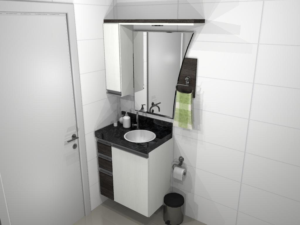 Du Planejados #6B7259 1024x768 Banheiro Bonito Simples
