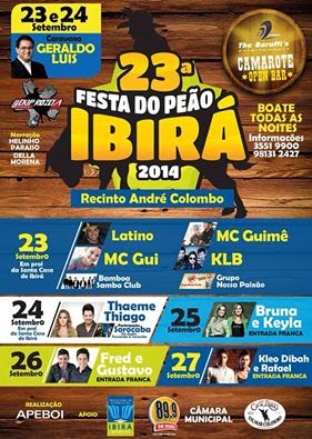 Festa do Peão em Ibirá