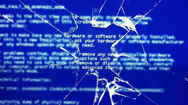 Crack Screen Windows Blue Screen of death:Intelligent Computing