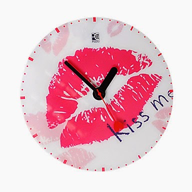 Reloj de Pared Kiss Me