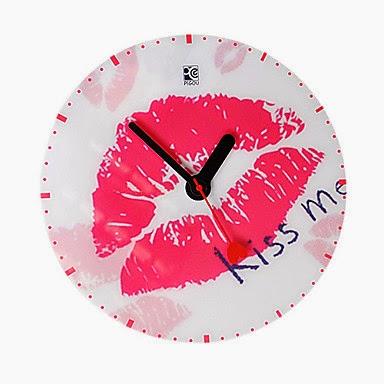 Reloj de Pared Kiss Me