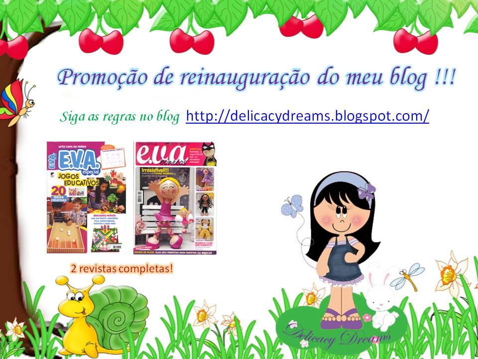 promoção no blog Delicacy Dreams