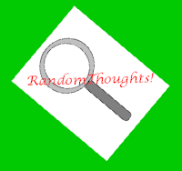 Randomthoughts magnifying glass