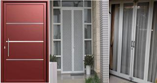 Jenis Pintu Aluminium