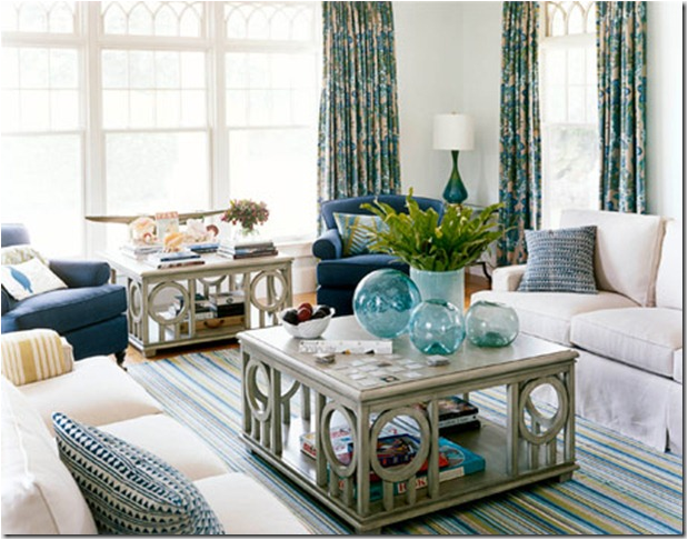 Coastal Style Living Room Inspiration