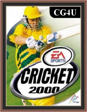 EA Sports Cricket 2000 Cover or Poster