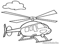 Gambar Helicopter Terbang Tinggi Diatas Awan