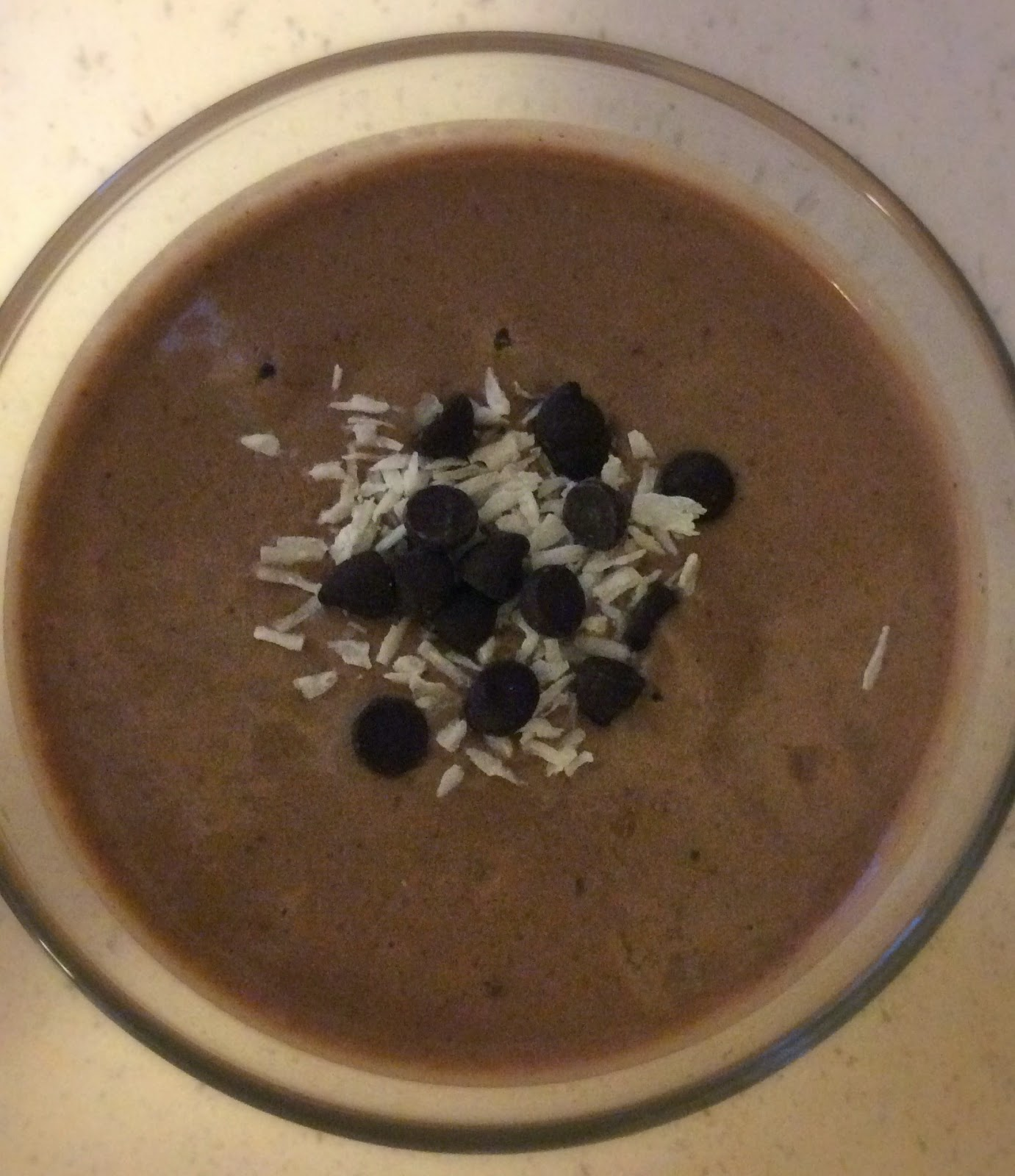 Taste and See's Creamy Chocolate-Banana Smoothie (Dairy Free)