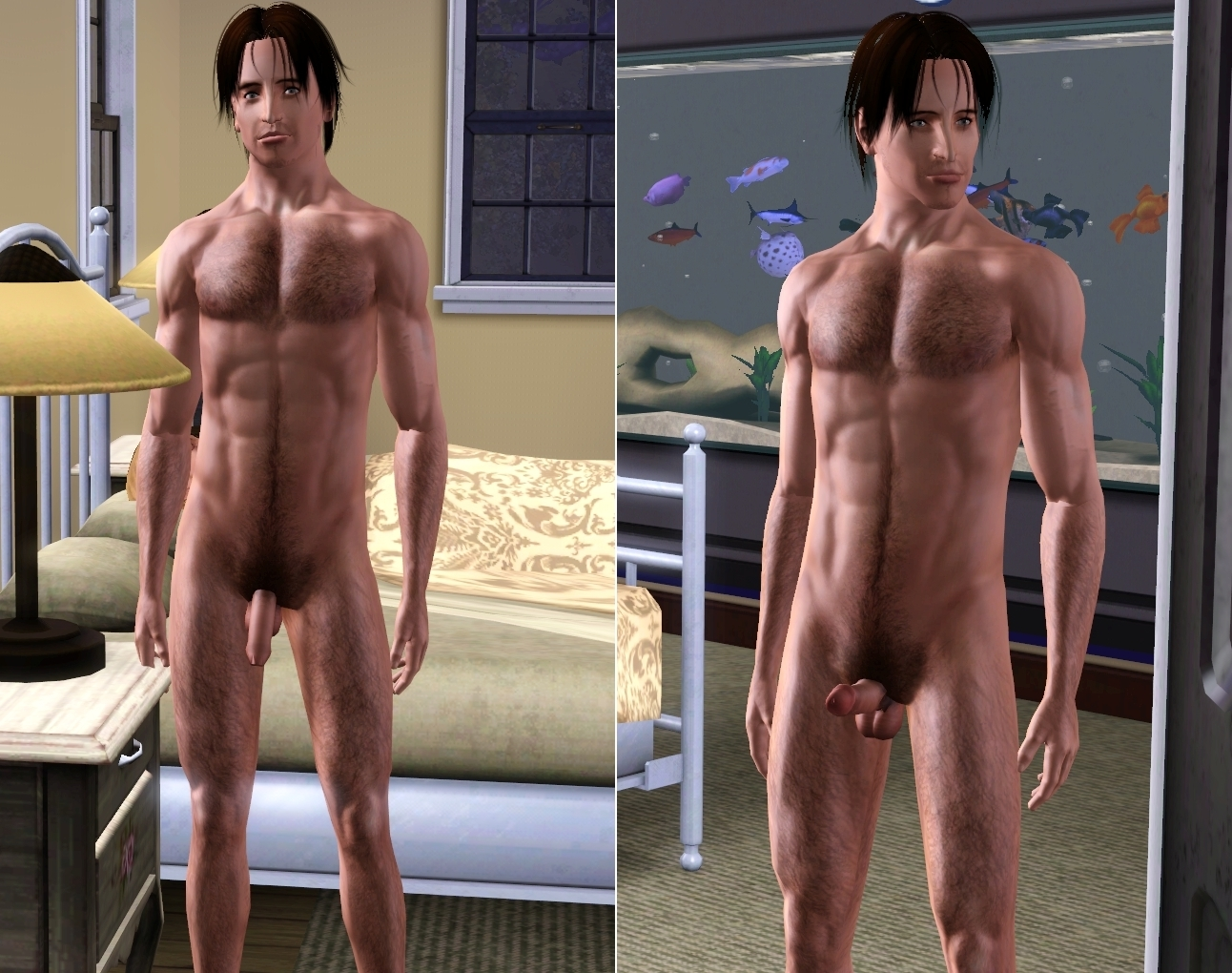 Naked sim mod on male hentia pic