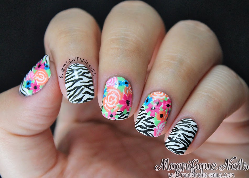 Magically Polished |Nail Art Blog|: Alphabet Nail Art Challenge: Z ...