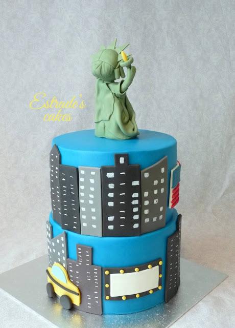 tarta de Nueva York con fondant 4