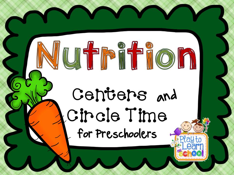 Preschool Crafts Nutrition Theme : Healthy Food Preschool Activities