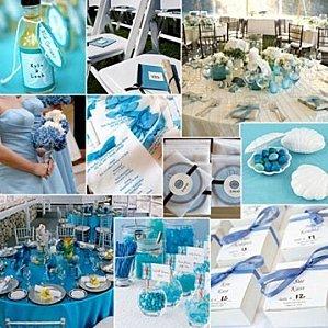 Mariage en folie second carnet d 39 inspiration le bleu - Mariage bleu et blanc ...