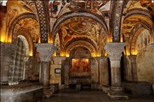 Imagen del Panteón de los Reyes que se encuentra en la basílica de San Isidoro de León