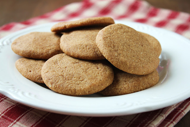 low-fructose molasses spice cookies, gluten-free