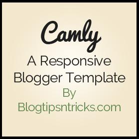 Camly a Responsive Blogger Theme