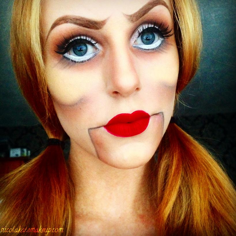 nicola kate makeup ventriloquist dummy. Black Bedroom Furniture Sets. Home Design Ideas