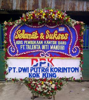 karangan bunga papan ucapan congratulations grand opening