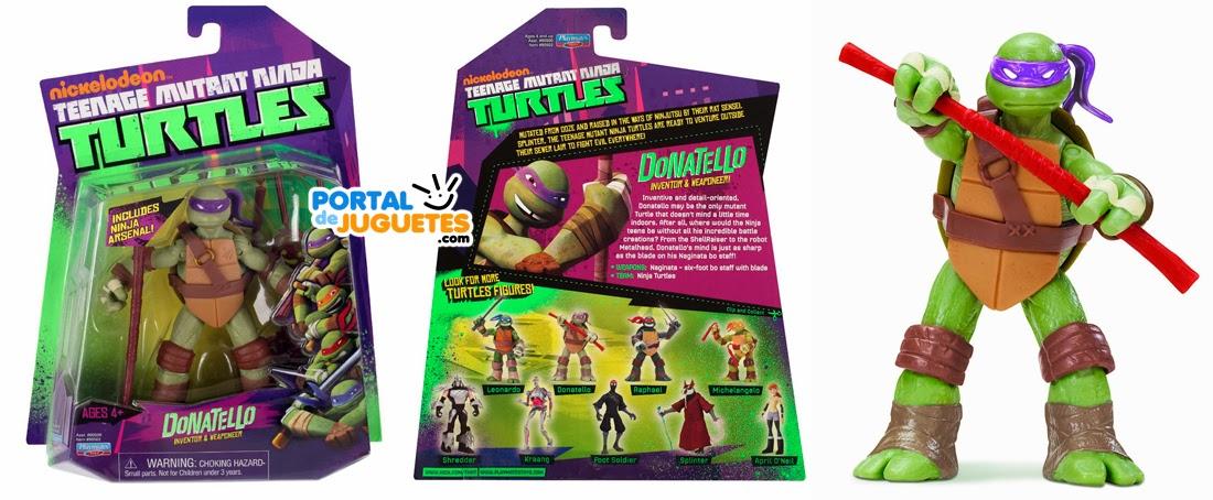 figura donatello tortuga ninja playmates toys