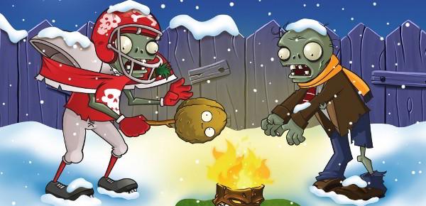 Fondos de pantalla navideños de Plantas vs Zombies   WSHARE 2.0