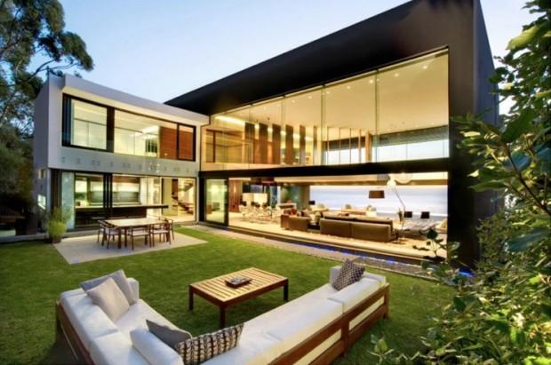 The arquitectura y dise o dise o de casa contempor nea for Diseno exterior casa contemporanea