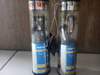 EarPhone / Headset Mercury