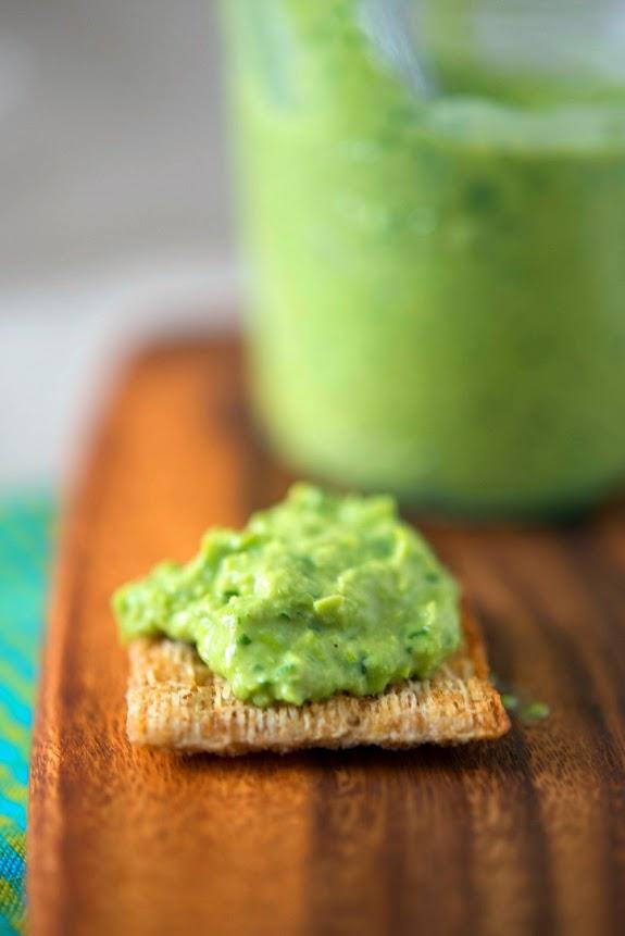 Spring Pea Hummus Recipe — Dishmaps