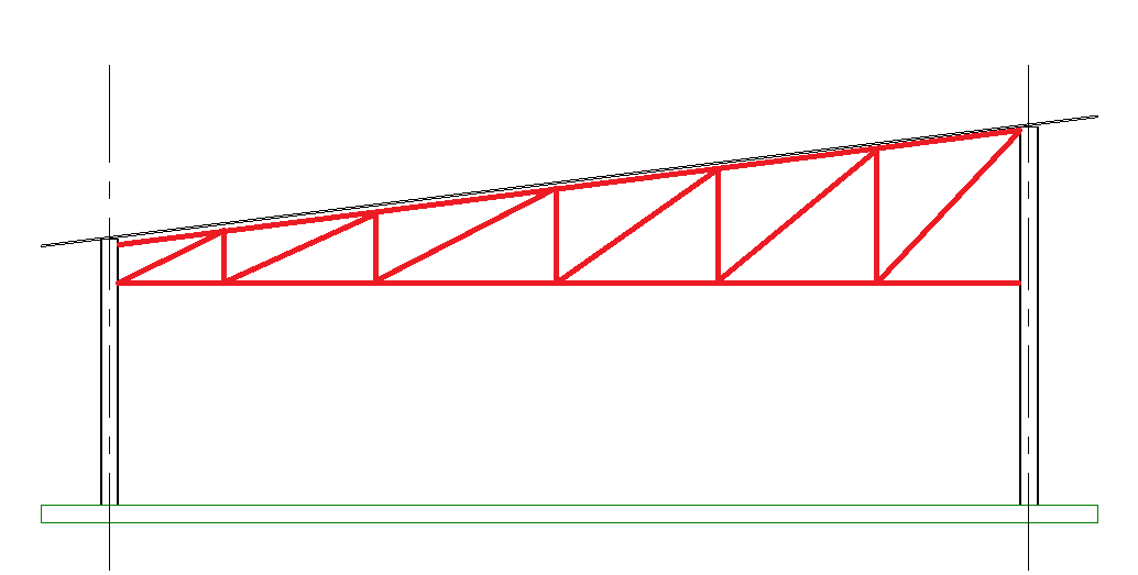 Structural Revit Ninja Structural Trusses With The Revit Truss Tool
