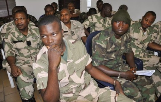 nigerian soldiers death row starving